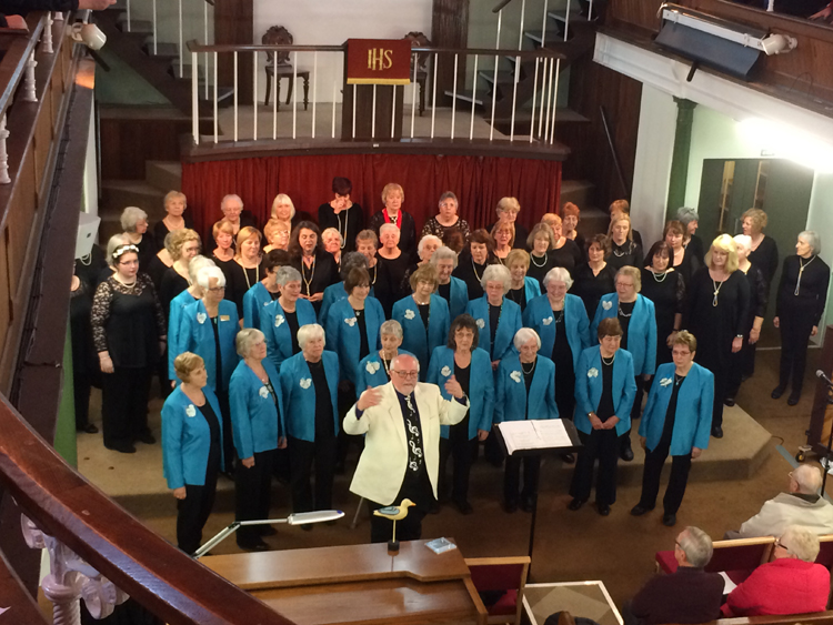 Feb Morriston ladies choir - 19feb2017 (2)