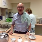 Open evening 21May14 - Alasdair cook and bottle washer
