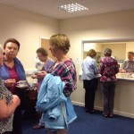 Open evening 21May14 - tea break