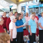 Riviera Singers in mid song