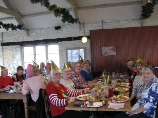 Xmas lunch Dec 2017